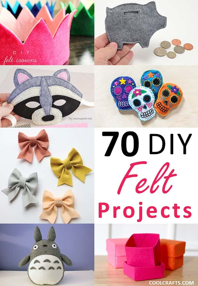 felt craft projects 70