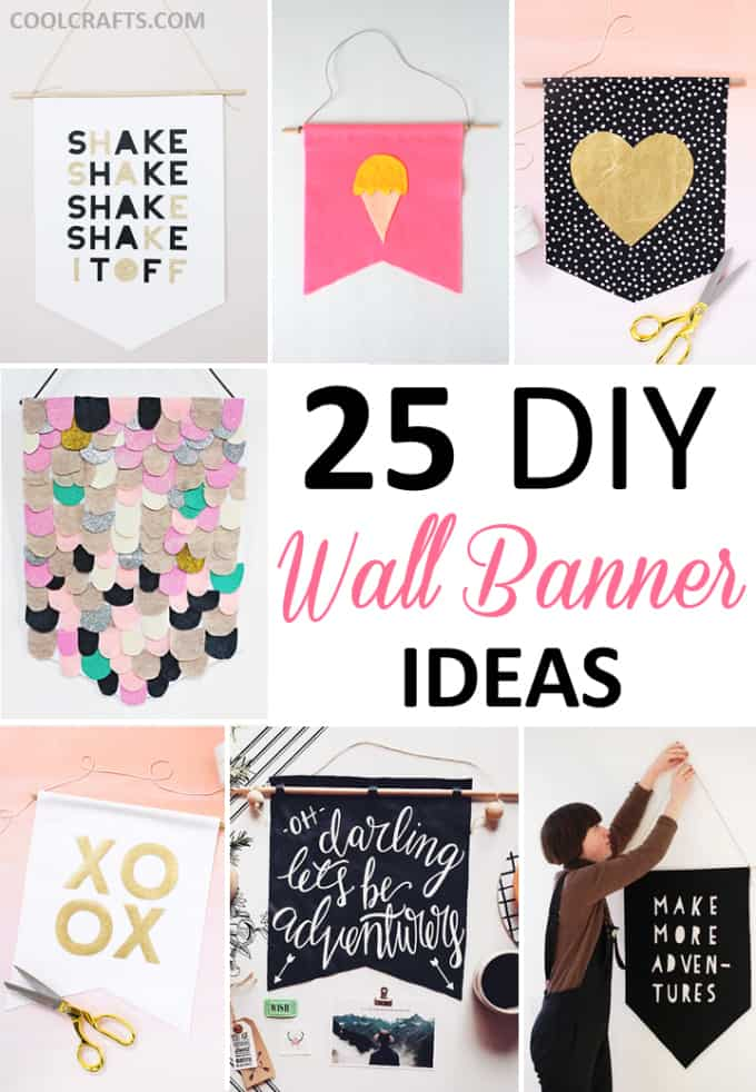 25 diy wall art