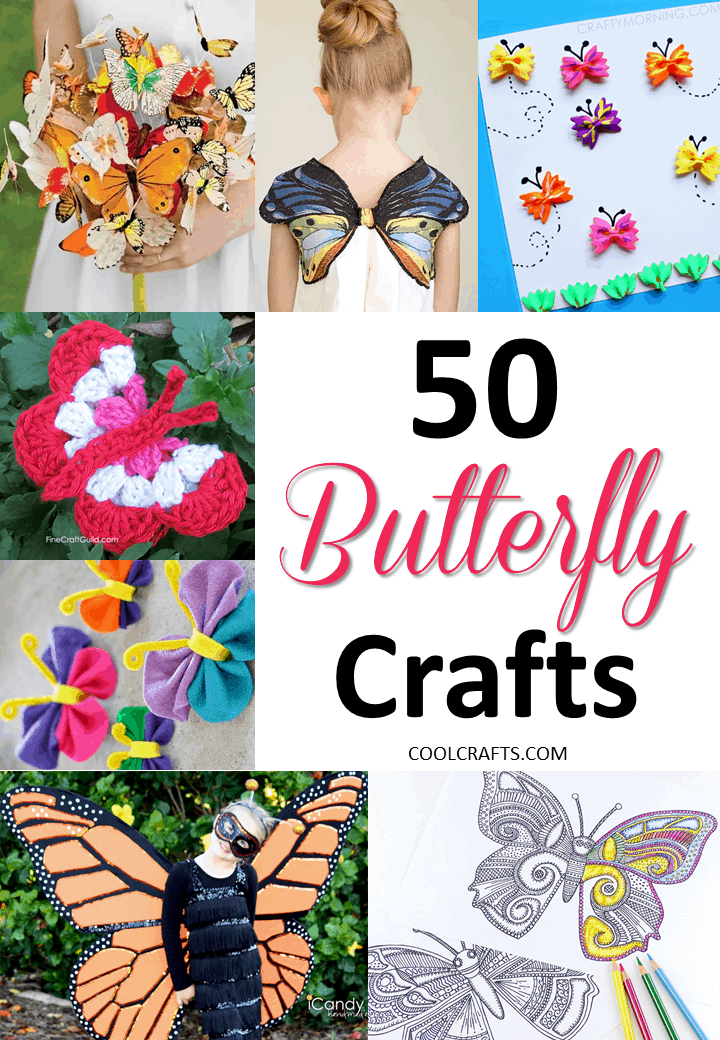 50 butterfly crafts you