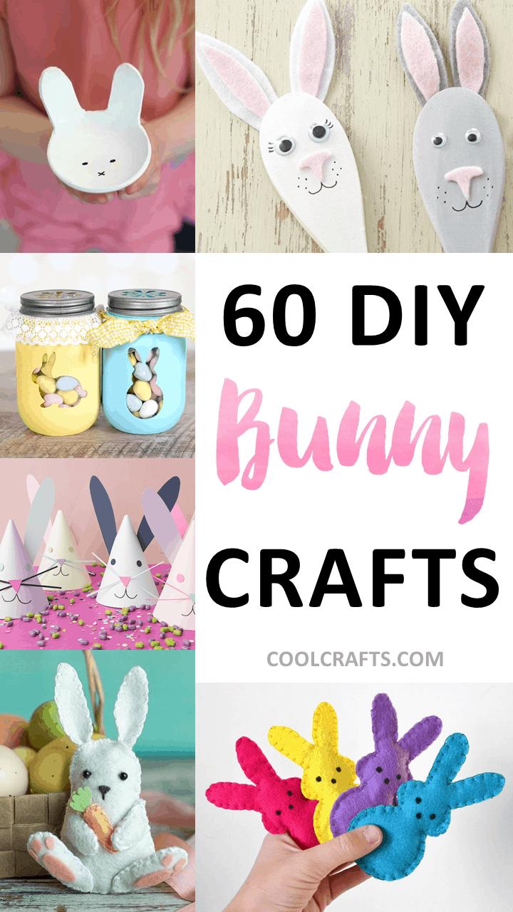 60 diy bunny crafts