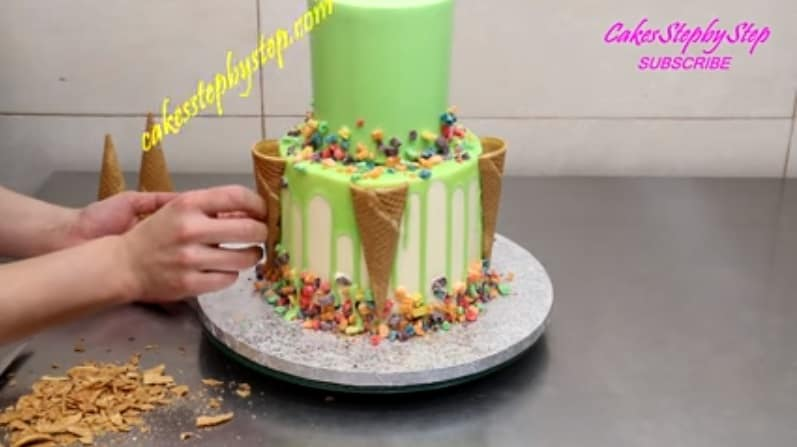 Easy Icing Decorating Cake Ideas