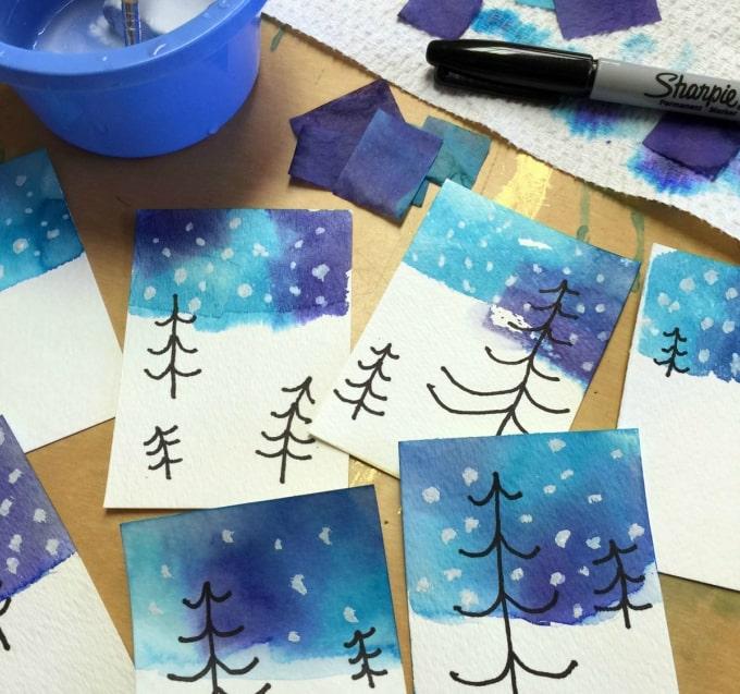 tissue paper crafts 50