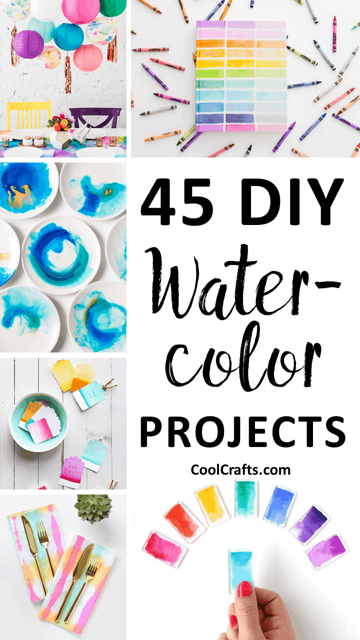 45 diy watercolor projects