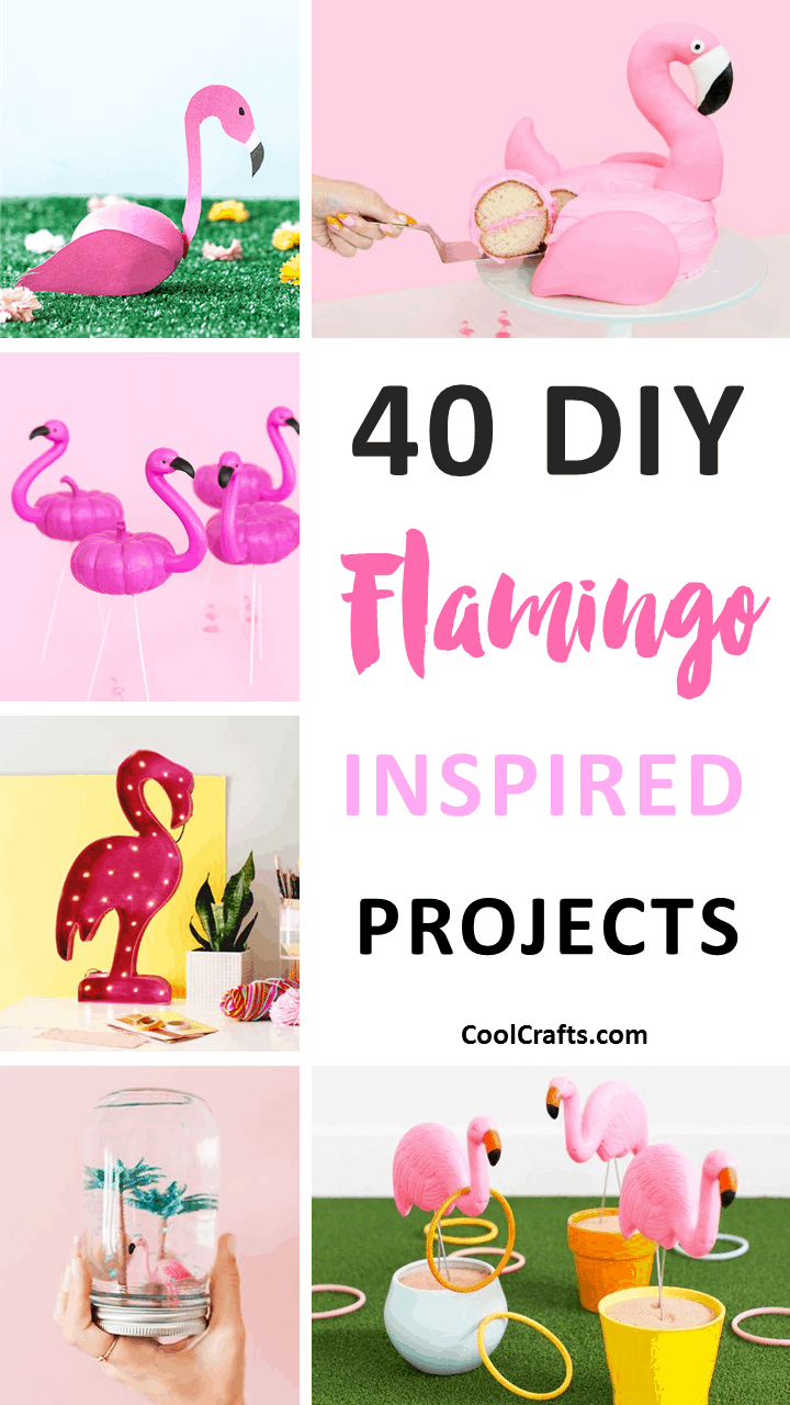 40 Fabulous DIY Flamingo Craft Amp Decor Ideas Cool Crafts