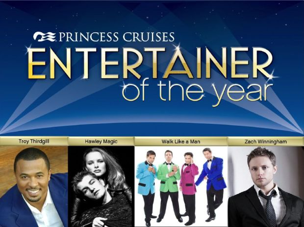 Finalist for Entertainer of the year