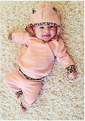 Tofasionla Neugeborenes Baby Mädchen Warm Hoodie T Shirt Top