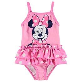"""Character – Baby Mädchen Badeanzug Badebekleidung Schwimmanzug """" Disney Minnie"""" – rosa"""
