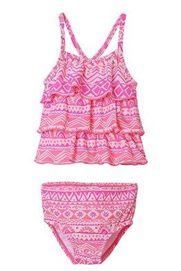 CharmLeaks – Baby Mädchen Badekleidung Tankini – rosa