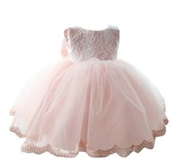 Happy Cherry – Baby Mädchen Kleid Ärmellos – rosa
