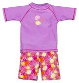 Landora – Baby Badebekleidung Zweiteiler UV-Schutz 50+ – violett
