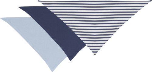 Playshoes – Baby Halstuch Dreieckstuch – blau, 3er Pack