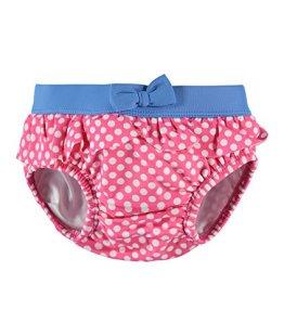 Steiff – Baby Mädchen Badebekleidung Schwimmwindel – rosa