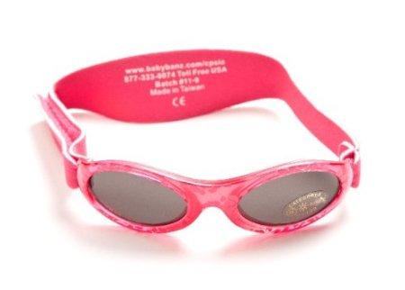 """BabyBanz – Baby-Sonnenbrille """"Red Fuchsia"""" – rot -"""