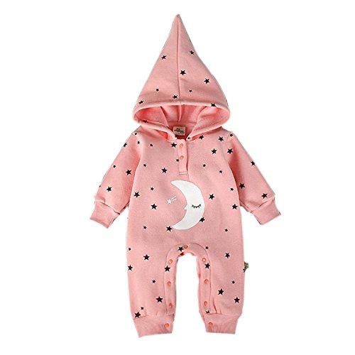 Bebone Baby Strampler Jungen M/ädchen Overall Stern und Mond Babykleidung