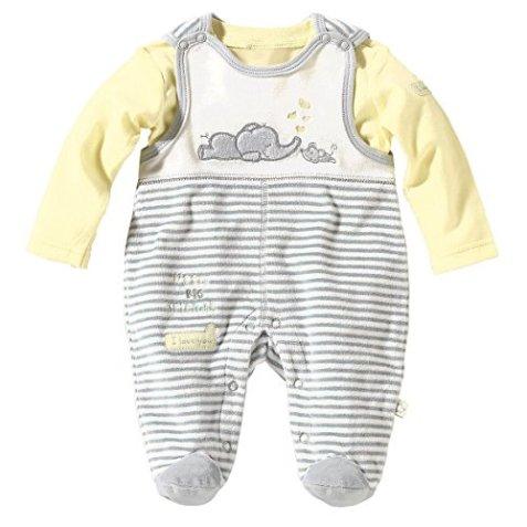 Neuankömmling b747f 46e4c BORNINO – Baby Jungen Nicki-Strampler – grau