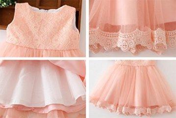 Happy Cherry – Baby Mädchen Kleid Ärmellos – rosa -