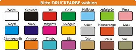 KLEINER FRATZ – mitwachsendes Wende Halstuch mit Wunschdruck in 7 Designs – pink/lime -