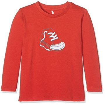 NAME IT – Baby Jungen Langarmshirt – rot -
