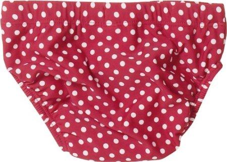 Playshoes – Baby Mädchen Badebekleidung Bade-Windel – rot -