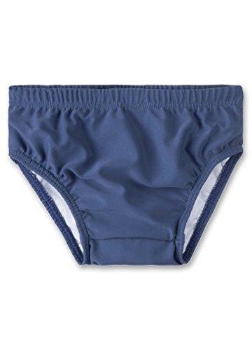 Sanetta – Baby Jungen Badebekleidung Schwimmwindel – blau -