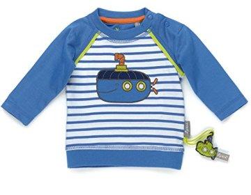 Sigikid – Baby Jungen Langarmshirt – blau -