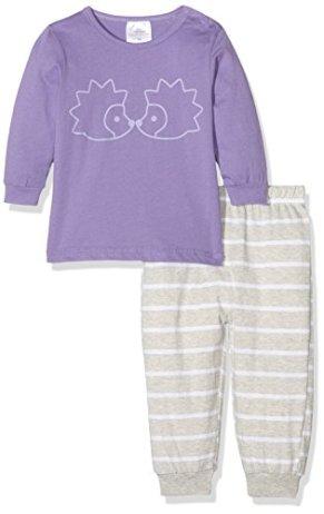 999b5d7901 elegant twins baby mdchen schlafanzug igel mehrfahrbig teilig with  schlafanzug baby