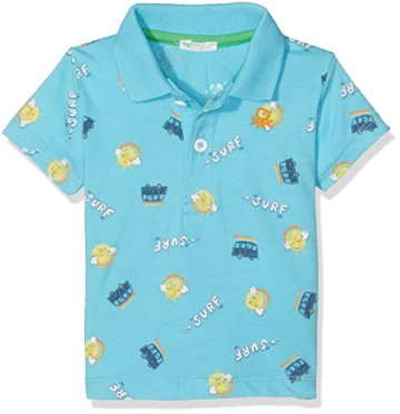 "United Colors of Benetton – Baby Jungen Poloshirt ""Surf"" – blau -"
