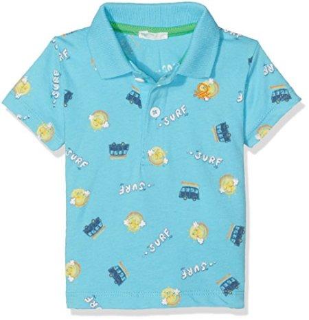 "United Colors of Benetton – Baby Jungen Poloshirt ""Surf"" – blau -"