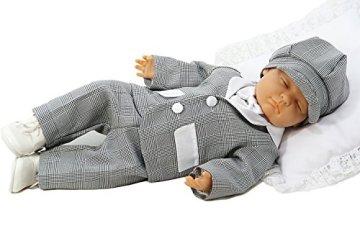 """W&W Taufmoden – Baby Jungen Taufanzug """"Sherlock"""" – grau -"""