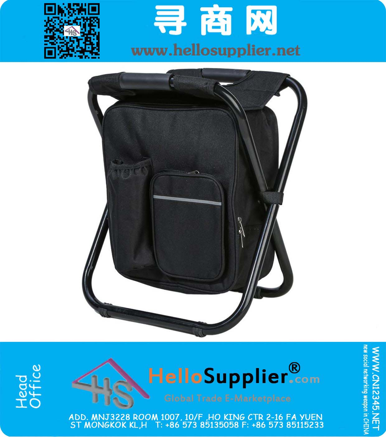 fishing chair best price floral upholstered multi function backpack foldable with cooler bag for beach camping and