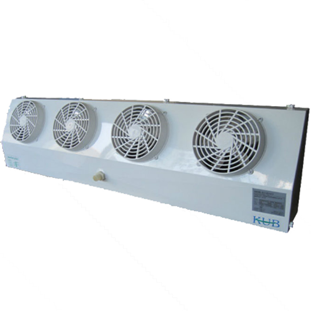 hight resolution of kubd 4d cold room freezer units four fan motor refrigeration air cooler with shaded pole fan motors