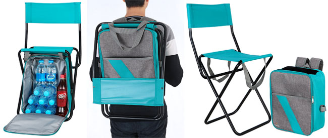 Cooler Backpack Chair  CheckNowsCO