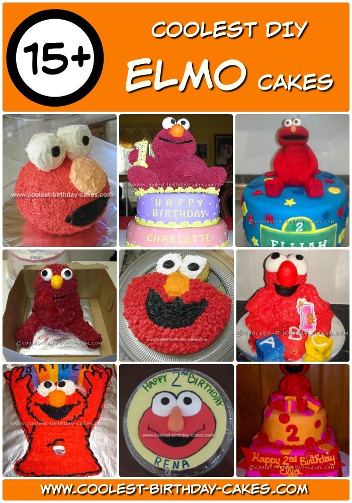 15 Coolest Elmo Cake Ideas Coolest Birthday Cakes