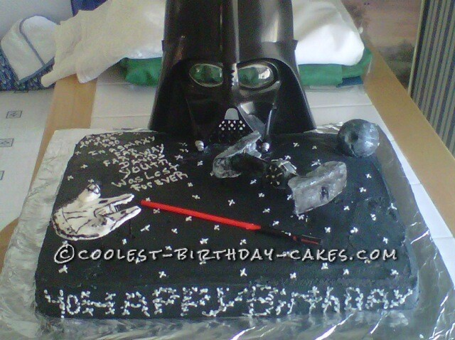 Awesome 40th Star Wars Birthday Cake