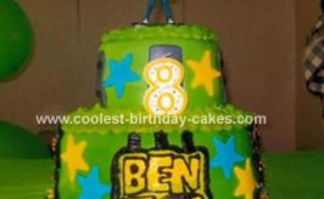 Cool Homemade Ben10 Cake