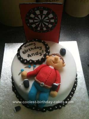 Coolest Darts Birthday Cake