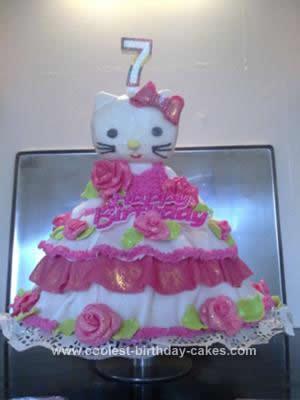 Coolest Hello Kitty Birthday Cake Idea