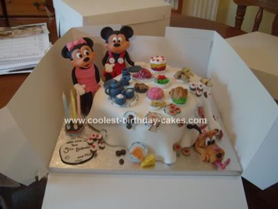 Coolest Mickey And Minnie Mouse Birthday Cake