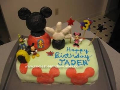 Coolest Mickey Mouse Clubhouse Cake