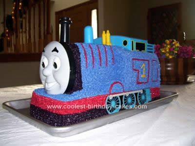 Coolest Thomas The Train Birthday Cake