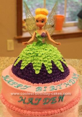 Coolest Tinkerbell Birthday Cake