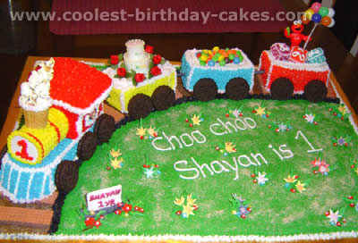 Coolest Train Cakes And Amazingly Original Train Cake Designs