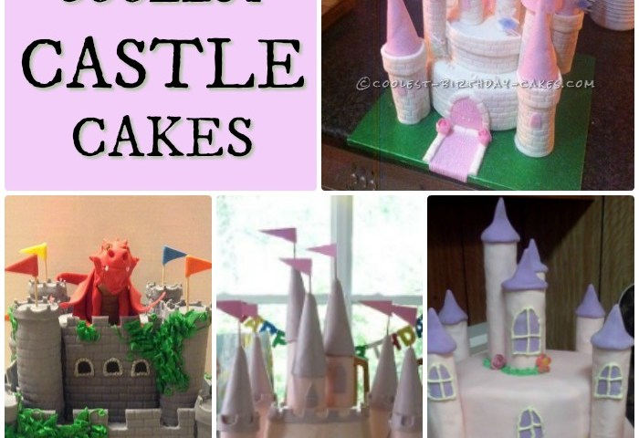 12 Coolest Castle Cake Ideas Awesome Homemade Castle Cake Designs