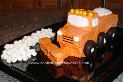 Homemade Snowplow Cake