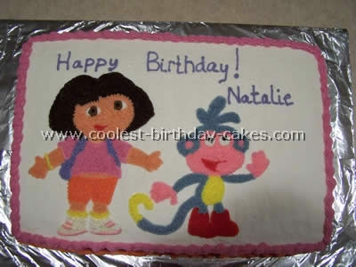 Coolest Dora The Explorer Cake Photos And How To Tips
