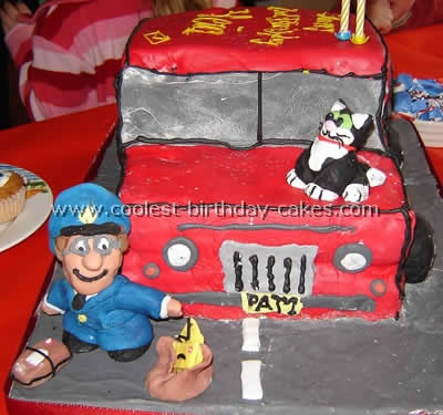 Coolest Postman Pat Cake Ideas And Photos