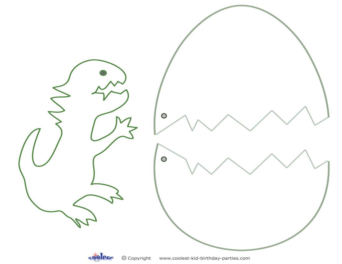 Dinosaur Fossil Dinosaur Fossil Template