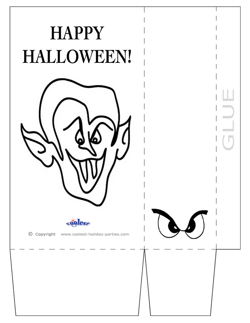 Big Mouth With Teeth Printable