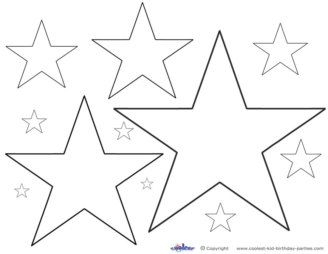 Pin Printable Primitive Star Patterns July Com On