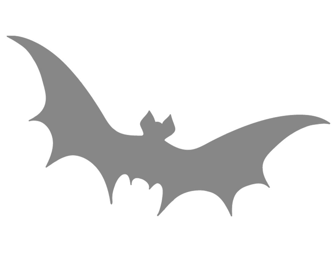 Printable Bat Stencil